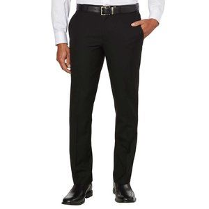 Kenneth Cole NY Men's Travel Suit Pant Black 36x30